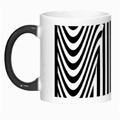 Stripe Abstract Stripped Geometric Background Morph Mugs