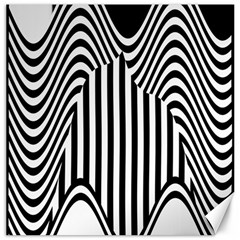 Stripe Abstract Stripped Geometric Background Canvas 12  X 12