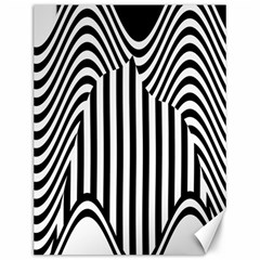 Stripe Abstract Stripped Geometric Background Canvas 12  X 16
