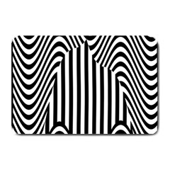 Stripe Abstract Stripped Geometric Background Plate Mats