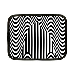 Stripe Abstract Stripped Geometric Background Netbook Case (small)