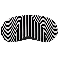 Stripe Abstract Stripped Geometric Background Sleeping Masks