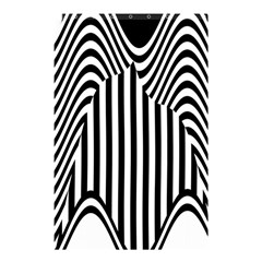 Stripe Abstract Stripped Geometric Background Shower Curtain 48  X 72  (small)