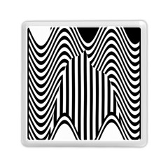 Stripe Abstract Stripped Geometric Background Memory Card Reader (square)