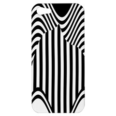 Stripe Abstract Stripped Geometric Background Apple iPhone 5 Hardshell Case