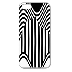 Stripe Abstract Stripped Geometric Background Apple Seamless iPhone 5 Case (Clear)