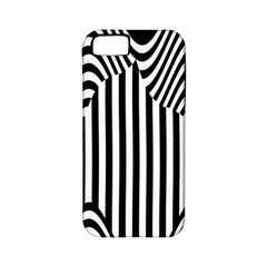 Stripe Abstract Stripped Geometric Background Apple Iphone 5 Classic Hardshell Case (pc+silicone)