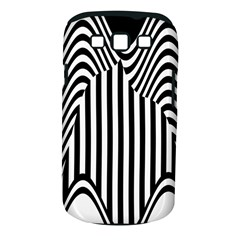 Stripe Abstract Stripped Geometric Background Samsung Galaxy S III Classic Hardshell Case (PC+Silicone)