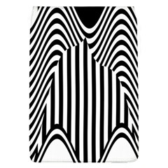Stripe Abstract Stripped Geometric Background Flap Covers (L)