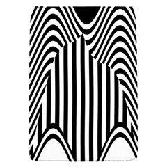 Stripe Abstract Stripped Geometric Background Flap Covers (S)
