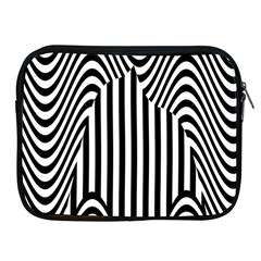 Stripe Abstract Stripped Geometric Background Apple iPad 2/3/4 Zipper Cases