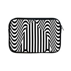 Stripe Abstract Stripped Geometric Background Apple Ipad Mini Zipper Cases