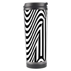 Stripe Abstract Stripped Geometric Background Travel Tumbler