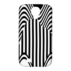 Stripe Abstract Stripped Geometric Background Samsung Galaxy S4 Classic Hardshell Case (PC+Silicone)