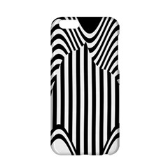 Stripe Abstract Stripped Geometric Background Apple iPhone 6/6S Hardshell Case