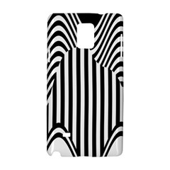 Stripe Abstract Stripped Geometric Background Samsung Galaxy Note 4 Hardshell Case