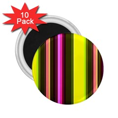 Stripes Abstract Background Pattern 2 25  Magnets (10 Pack)