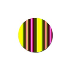 Stripes Abstract Background Pattern Golf Ball Marker (10 pack)