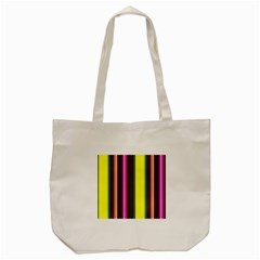Stripes Abstract Background Pattern Tote Bag (Cream)