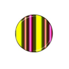 Stripes Abstract Background Pattern Hat Clip Ball Marker (10 Pack)