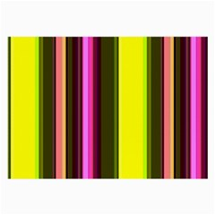 Stripes Abstract Background Pattern Large Glasses Cloth