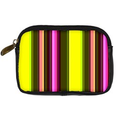 Stripes Abstract Background Pattern Digital Camera Cases