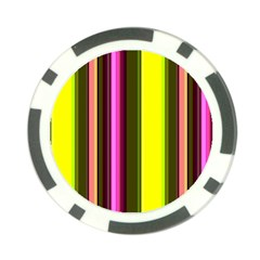 Stripes Abstract Background Pattern Poker Chip Card Guard (10 Pack)