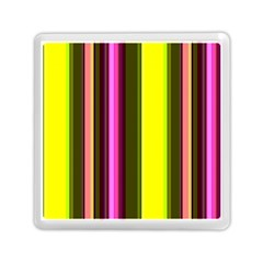 Stripes Abstract Background Pattern Memory Card Reader (square)