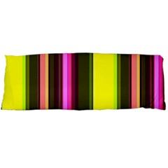 Stripes Abstract Background Pattern Body Pillow Case (Dakimakura)