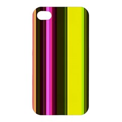 Stripes Abstract Background Pattern Apple iPhone 4/4S Premium Hardshell Case