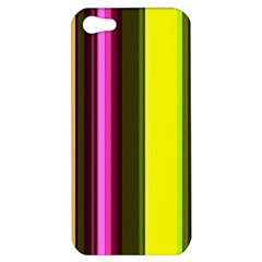 Stripes Abstract Background Pattern Apple iPhone 5 Hardshell Case