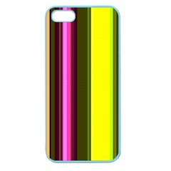 Stripes Abstract Background Pattern Apple Seamless Iphone 5 Case (color)
