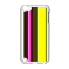Stripes Abstract Background Pattern Apple Ipod Touch 5 Case (white)