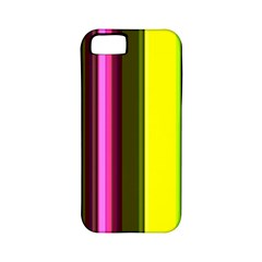 Stripes Abstract Background Pattern Apple iPhone 5 Classic Hardshell Case (PC+Silicone)