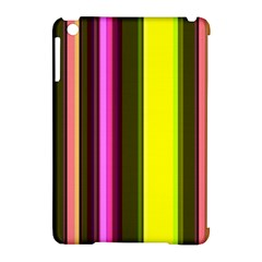 Stripes Abstract Background Pattern Apple iPad Mini Hardshell Case (Compatible with Smart Cover)