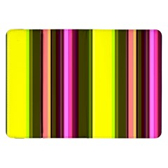 Stripes Abstract Background Pattern Samsung Galaxy Tab 8.9  P7300 Flip Case
