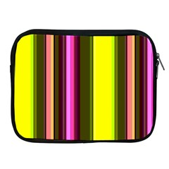 Stripes Abstract Background Pattern Apple iPad 2/3/4 Zipper Cases