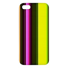 Stripes Abstract Background Pattern iPhone 5S/ SE Premium Hardshell Case