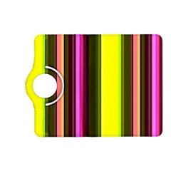 Stripes Abstract Background Pattern Kindle Fire HD (2013) Flip 360 Case
