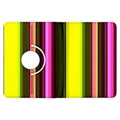 Stripes Abstract Background Pattern Kindle Fire HDX Flip 360 Case