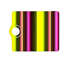 Stripes Abstract Background Pattern Kindle Fire HDX 8.9  Flip 360 Case