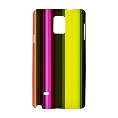Stripes Abstract Background Pattern Samsung Galaxy Note 4 Hardshell Case