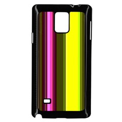 Stripes Abstract Background Pattern Samsung Galaxy Note 4 Case (black)