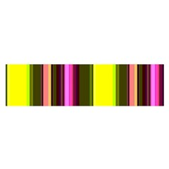 Stripes Abstract Background Pattern Satin Scarf (oblong)