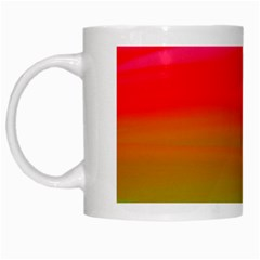 Watercolour Abstract Paint Digitally Painted Background Texture White Mugs