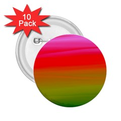 Watercolour Abstract Paint Digitally Painted Background Texture 2 25  Buttons (10 Pack)