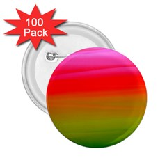 Watercolour Abstract Paint Digitally Painted Background Texture 2 25  Buttons (100 Pack)
