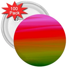 Watercolour Abstract Paint Digitally Painted Background Texture 3  Buttons (100 pack)