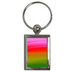 Watercolour Abstract Paint Digitally Painted Background Texture Key Chains (rectangle)
