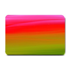 Watercolour Abstract Paint Digitally Painted Background Texture Small Doormat
